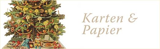 Weihnachts-Karten & -Papier