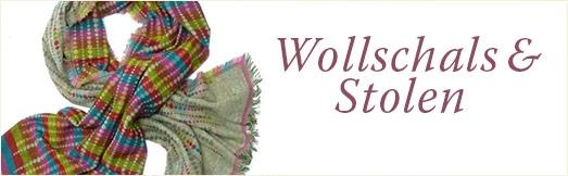 Wollschals und Wollstolen