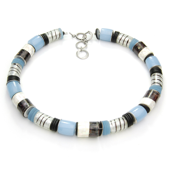 Langani Collier - Bleu-Silber - Art. Nr. 10711 11 831