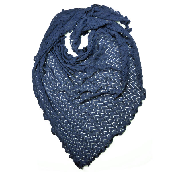 Invero Dreiecktuch Susi blau