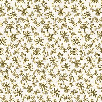 Geschenk-Papier Schneekristalle Grafiche Tassotti