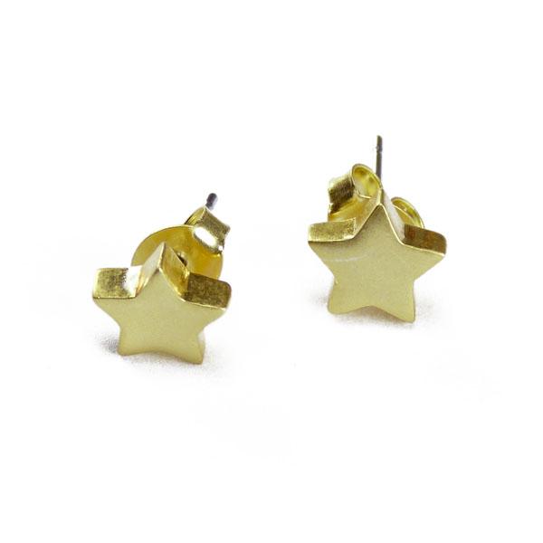 Sterne Ohrstecker Sence Copenhagen Astre star vergoldet R056