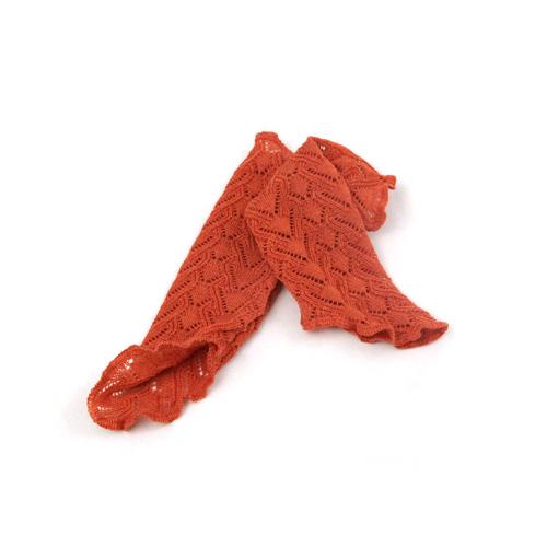 Invero Merinowoll-Stulpen Missy orange