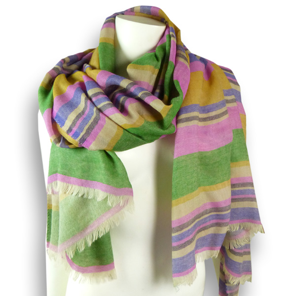 Ahmaddy Wollschal multicolor
