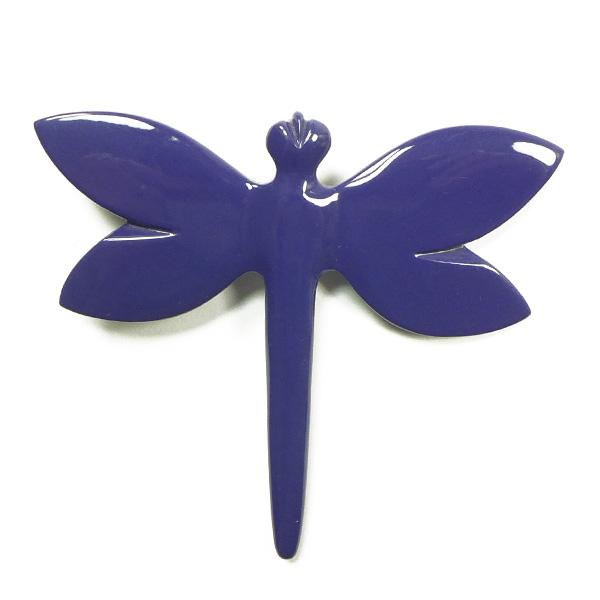 Hornbrosche Libelle indigoblau