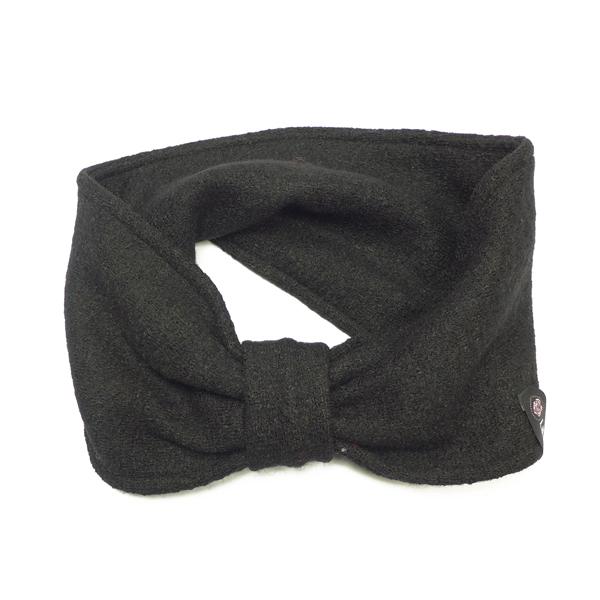 Stirnband gewalkt schwarz von Lieblingsstükke