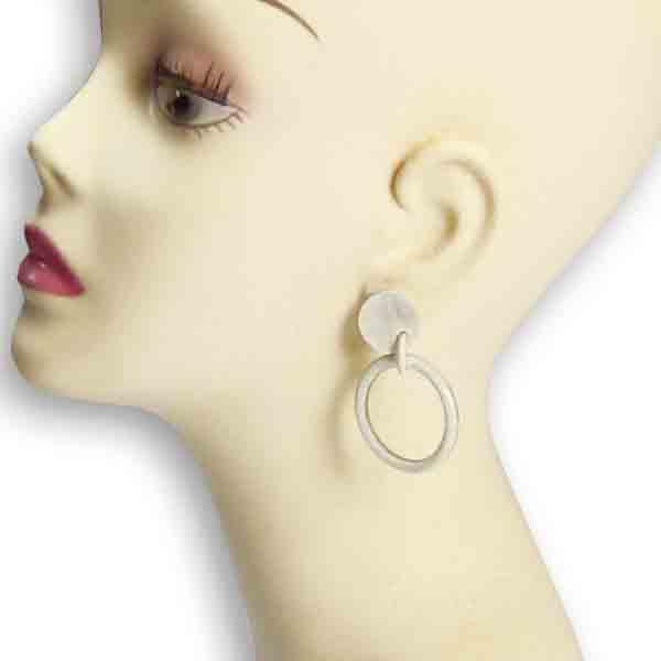 Horn-Ohrhänger African hell von Stephisimo