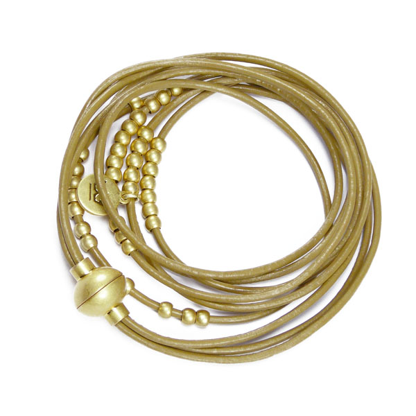 Sence Copenhagen Armband/Kette A 905 goldfarben-taupe