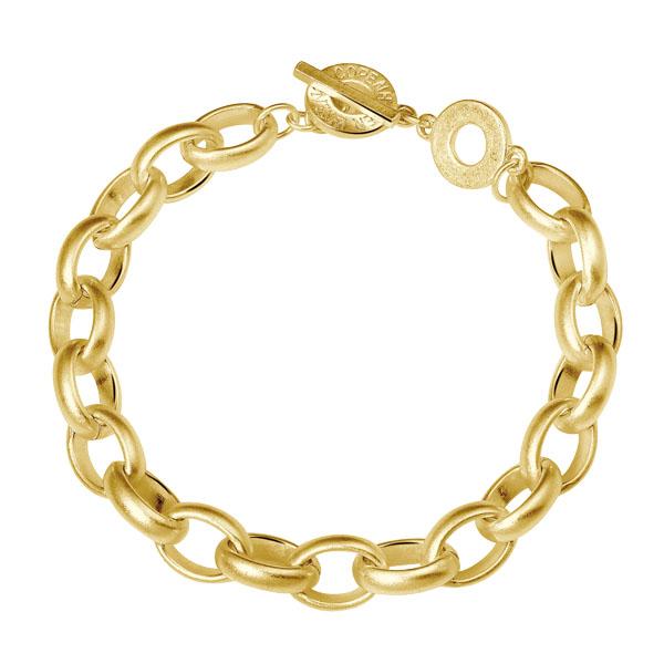 Sence Copenhagen Essentials Armband gold dicke Kettenglieder