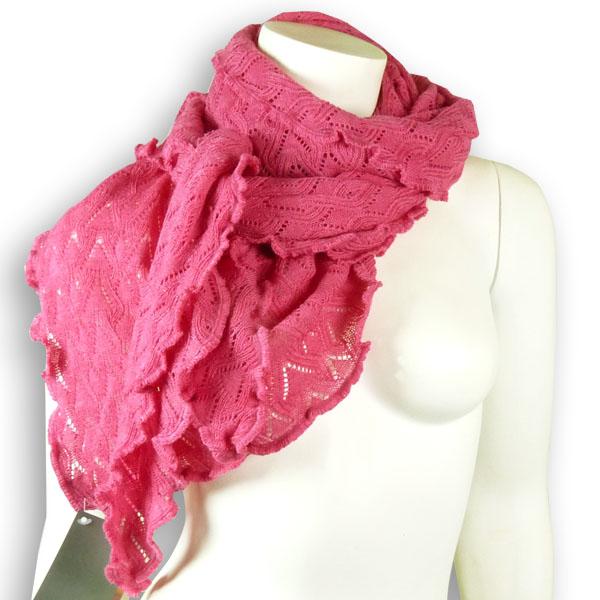 Invero Woll-Dreiecktuch Susi pink