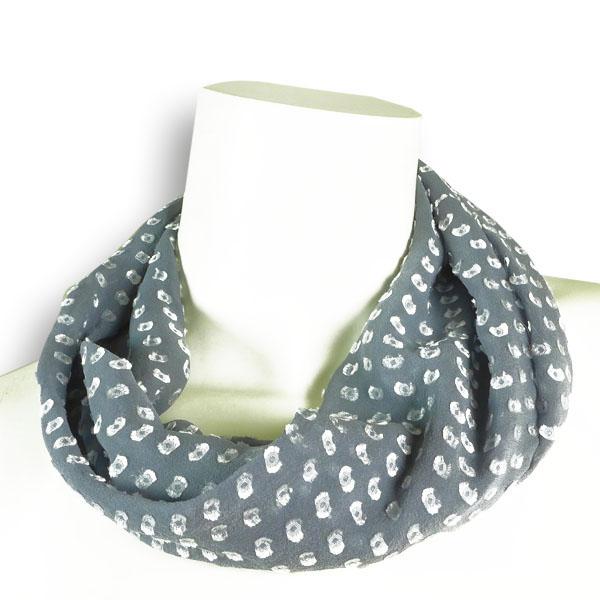 Seidenloop grau von Rother Textildesign