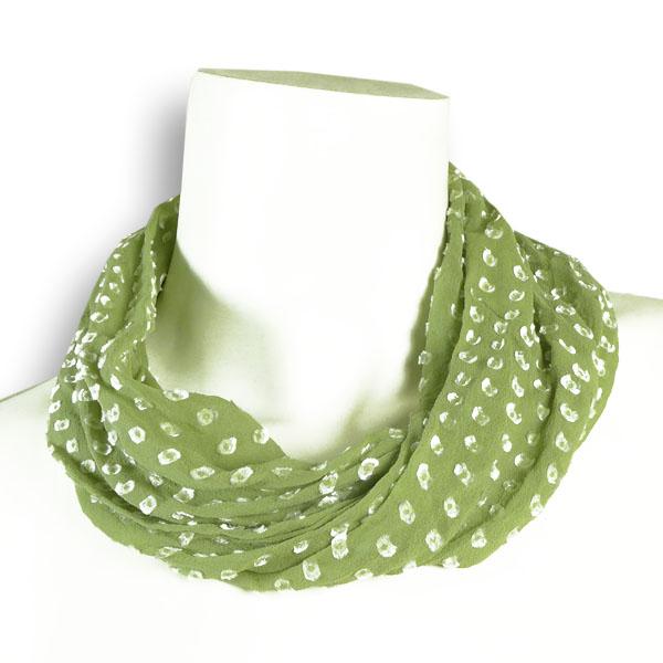 Seidenloop grün von Rother Textildesign