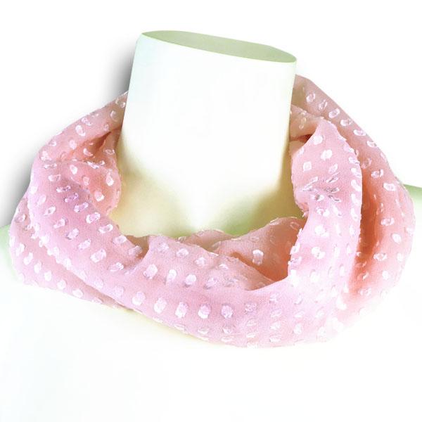 Seidenloop rosa von Rother Textildesign