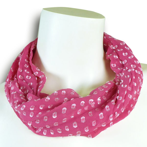 Seidenloop pink von Rother Textildesign
