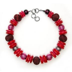 Langani Halskette - rotes Intermezzo -  Art. Nr. 1050231420