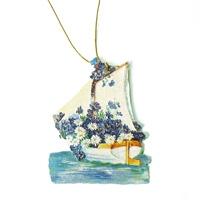 Geschenkanhänger nostalgische Segel-Schiffe