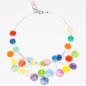 Langani  Collier - extravagant und farbenfroh - Art. 10861 05 100