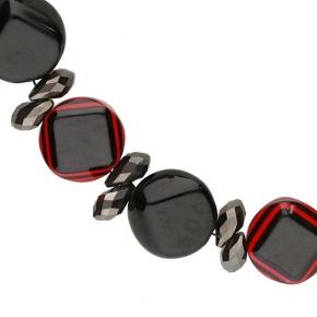 Langani Collier Solana schwarz-rot Art. Nr. 109711