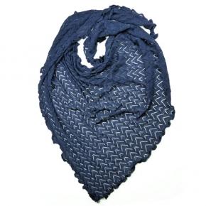 Invero Dreiecktuch Susi marineblau