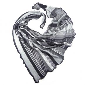 Invero Dreiecktuch Kyra grau