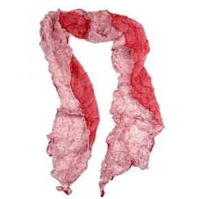 Senas Seidenschal Rossini in rot/rosa
