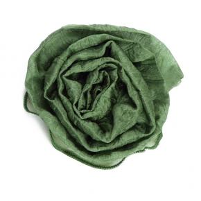 Seidenrose zum Anstecken smaragdgrün von E. Wienholdt Design