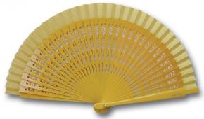 Fächer Mini Mantilla gelb von Véra Pilo