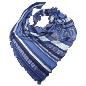 Invero Dreiecktuch Kyra blau