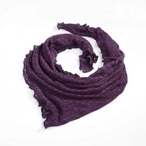 Invero Dreiecktuch Susi lila