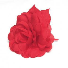 Ansteckblüte rot von Heinz Müller