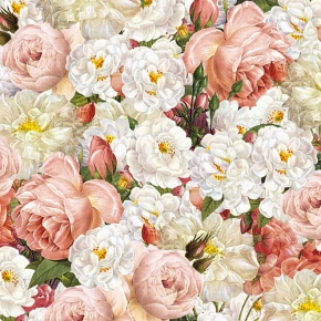Rose Harmonie  Geschenkpapier von Grafiche Tassotti