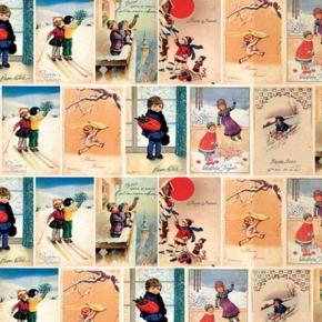 Weihnachtspapier Grafiche Tassotti Nostalgische Weihnacht