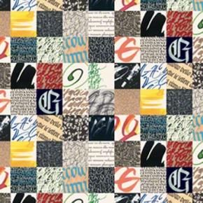 Geschenkpapier Kalligraphie Grafiche Tassotti