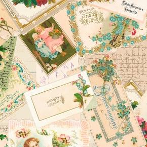 Nostalgie Glückwünsche Papier von Grafiche Tassotti