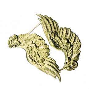 Große Engelsflügel gold  aus Papier