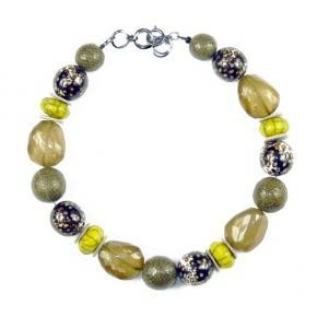 Langani Collier - lemongrün und gelb, Art. 1012031912