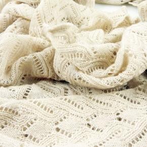 Invero Woll-Dreiecktuch Susi strand