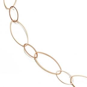 Halskette rosé vergoldet STCH 14 lang