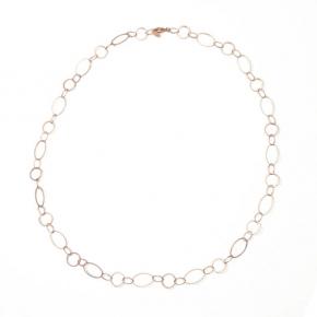 Halskette rosé vergoldet STCH 13 extra lang