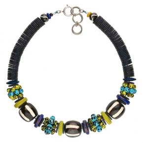 Langani Halskette Marcena afrikanisch bunt