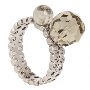 Sence Copenhagen Ring Couture mit Glasschilff
