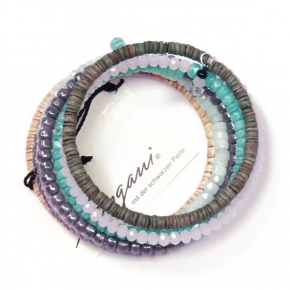 Langani Armband Spiralreif pastellfarben