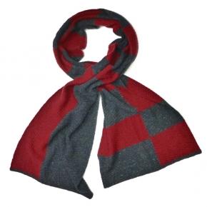McKERNAN Wollschal Marley rot-schwarzblau