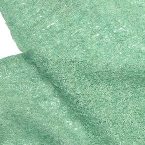 McKERNAN Leinenschal Whisper Green Wave