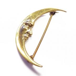 K-Design Bronzebrosche Mond