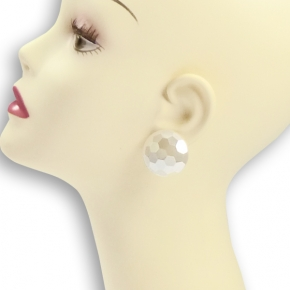 Ohr-Clips rund und facettiert