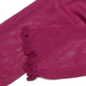 Seidenstulpen von E. Wienholdt Design in pink-magenta