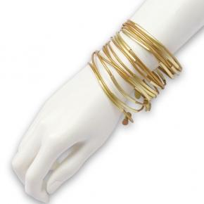 Sence Copenhagen Urban Gipsy Armreifen gold mit gold F 807 S4