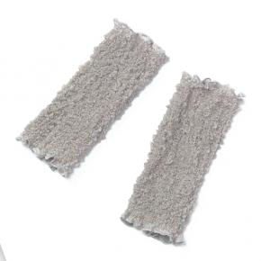 Seidenstulpen gecrasht mauve von Rother Textildesign