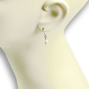 Stephisimo Ohrstecker Freshwater-Pearls Mini silber